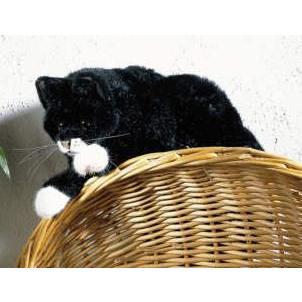 ケーセン(Kosen)社 ねそべり猫・黒
