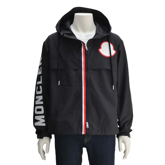 低価格で大人気の モンクレール Moncler メンズ ナイロンブルゾン ブラック MONTREAL モントリオール ブラック モントリオール バリアブルフロント ビッグアイコン Men's&ロゴ パーカー Men's, フウレンチョウ:4bc4212f --- grafis.com.tr
