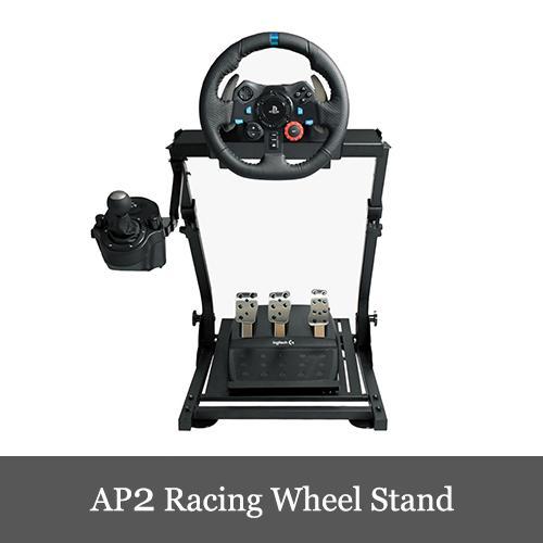 AP2 Racing Wheel Stand ホイールスタンド 折畳式 Logitech G29/G923 Thrustmaster T300RS GT/T300RS/T150/T-GT/TX/TS-XW対応 国内正規品|dereshop