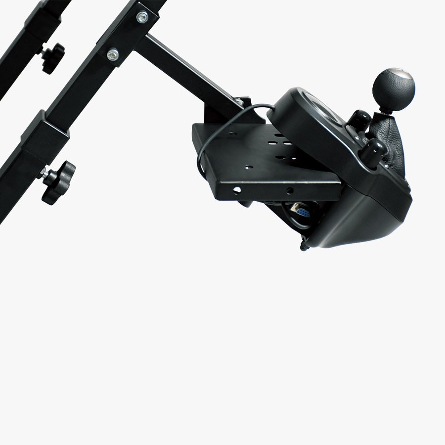 AP2 Racing Wheel Stand ホイールスタンド 折畳式 Logitech G29/G923 Thrustmaster T300RS GT/T300RS/T150/T-GT/TX/TS-XW対応 国内正規品|dereshop|07