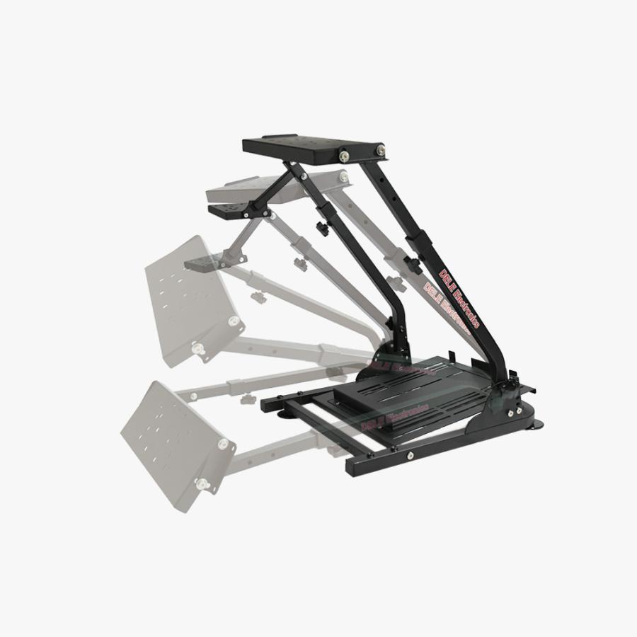 AP2 Racing Wheel Stand ホイールスタンド 折畳式 Logitech G29/G923 Thrustmaster T300RS GT/T300RS/T150/T-GT/TX/TS-XW対応 国内正規品|dereshop|08