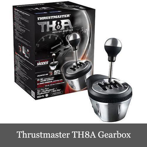 限定セール スラストマスター Thrustmaster TH8A Gearbox シフター ギアボックス 輸入品 PS3/PS4/PC/XOne 対応