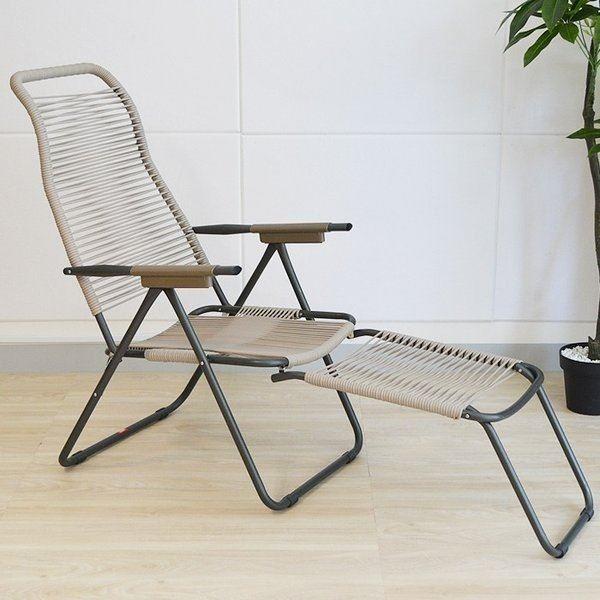 リクライニングチェア 屋外用 アウトドア キャンプ 椅子 チェア メッシュチェア 折りたたみ イタリア FIAM(フィアム)社製 Spaghetti (スパゲッティ)