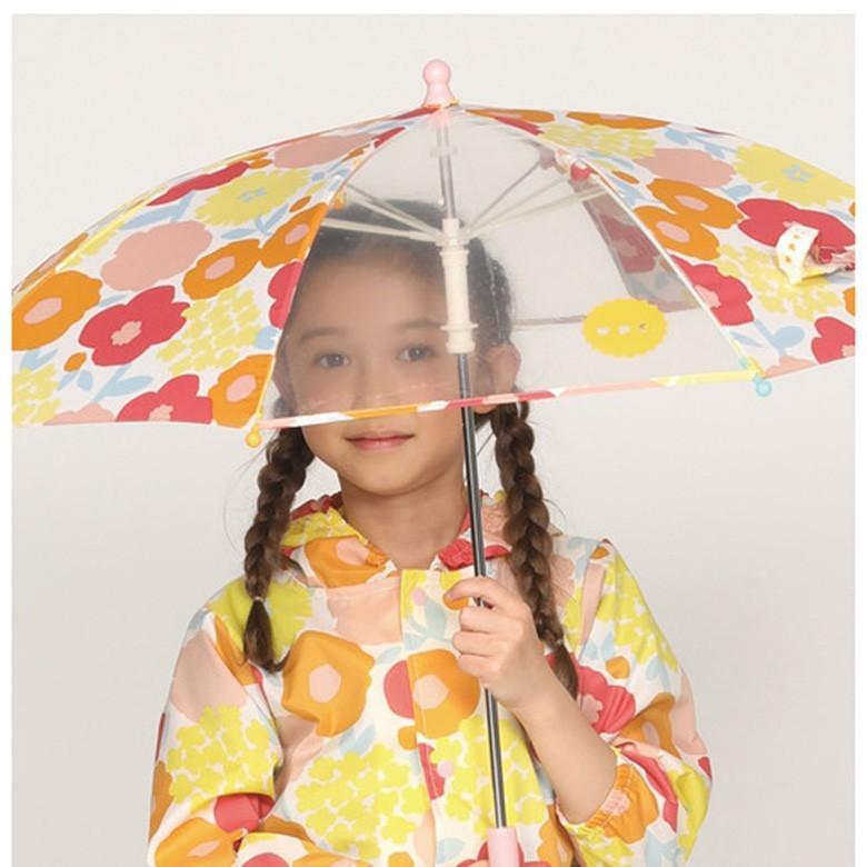Wpc キッズ 傘 可愛い おしゃれ こども ワールドパーティー ドット 水玉 ボーダー アニマル フルーツ 花柄 男の子 女の子 通園 通学|designers-labo-jp|11