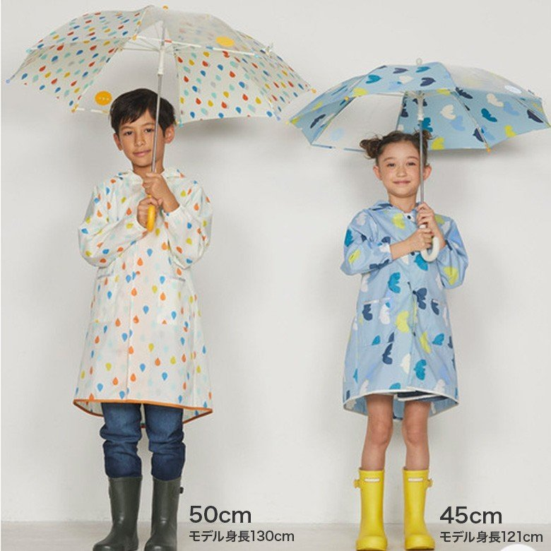 Wpc キッズ 傘 可愛い おしゃれ こども ワールドパーティー ドット 水玉 ボーダー アニマル フルーツ 花柄 男の子 女の子 通園 通学|designers-labo-jp|12
