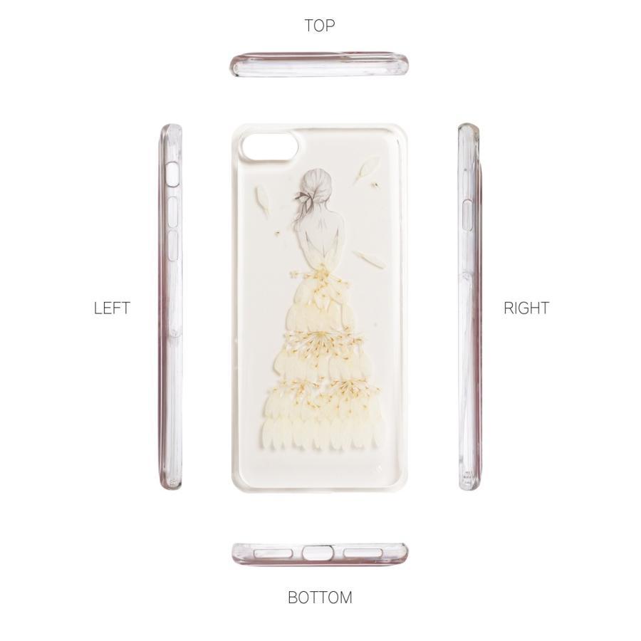 iPhone11 ケース アイフォン11 ケース iPhone8 ケース iPhone11proケース XR ケース 花 押花 かわいい dm「プリンセス」|designmobile|09