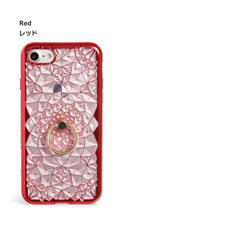 iPhone11 ケース アイフォン11 ケース iPhone8 ケース iPhone11proケース XR ケース リング キラキラ かわいい dm「ジュエル」 designmobile 12