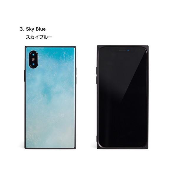 iPhone8 ケース SE2 XR ケース スマホケース XS MAX X iPhone7 iPhoneケース かわいい ガラス dm「スクエアタイル」|designmobile|11