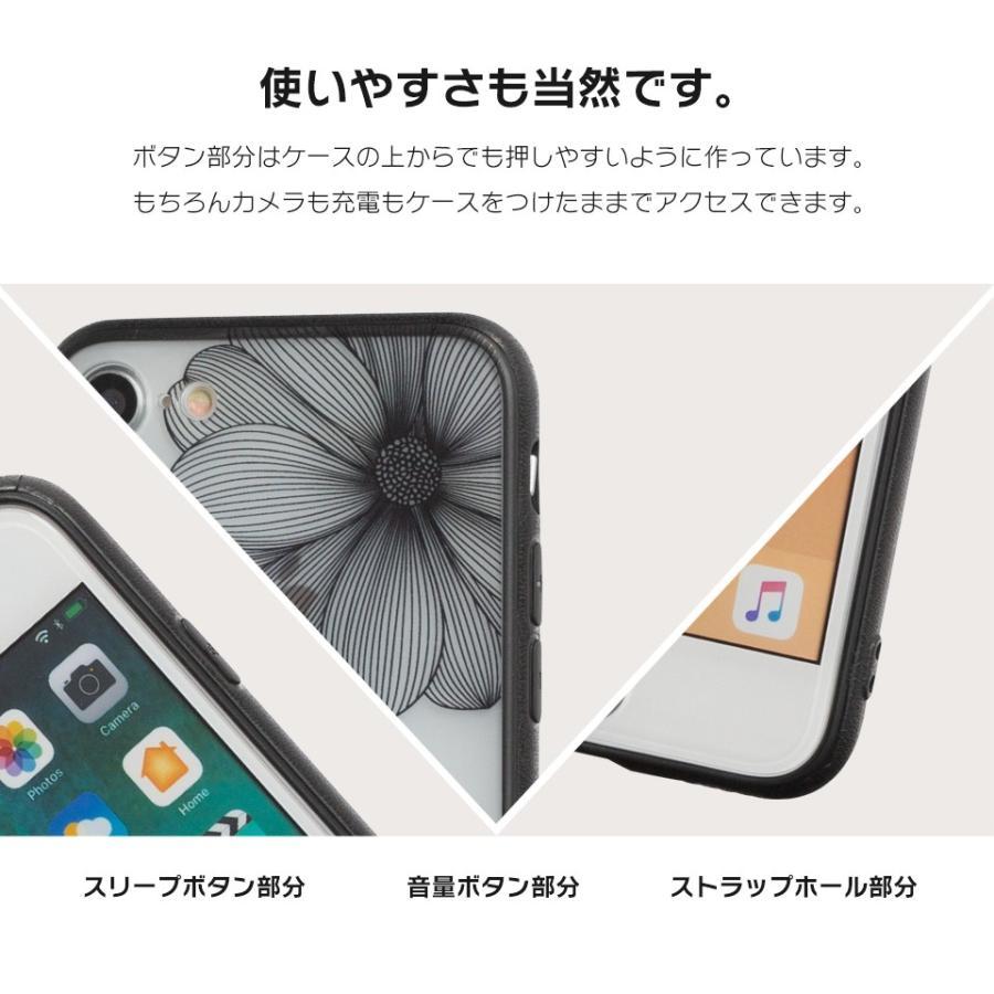 iPhone11 ケース アイフォン11 ケース iPhone8 ケース iPhone11proケース XR ケース レース 花 リング dm「レースリング」|designmobile|07