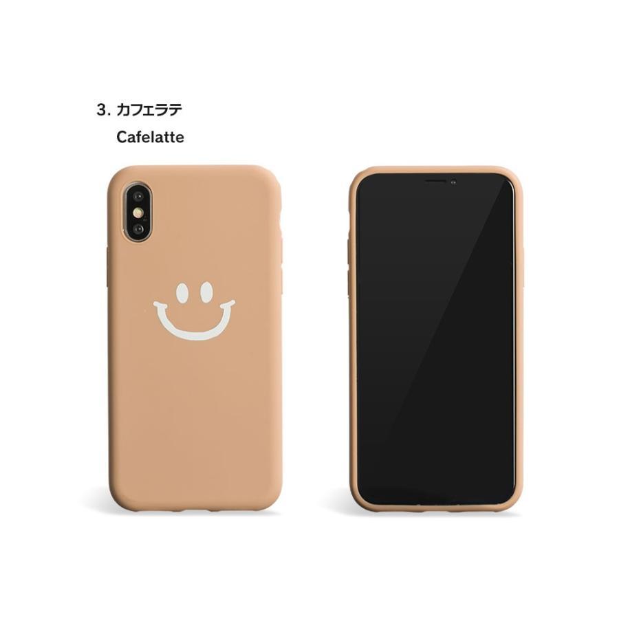 iPhone8 ケース SE2 XR ケース スマホケース XS MAX X iPhone7 iPhoneケース かわいい スマイル マーク ニコちゃん 緑 dm「ベイクドニコ」 designmobile 13
