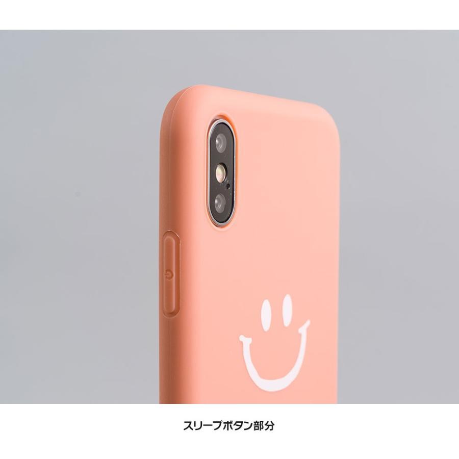 iPhone8 ケース SE2 XR ケース スマホケース XS MAX X iPhone7 iPhoneケース かわいい スマイル マーク ニコちゃん 緑 dm「ベイクドニコ」 designmobile 07