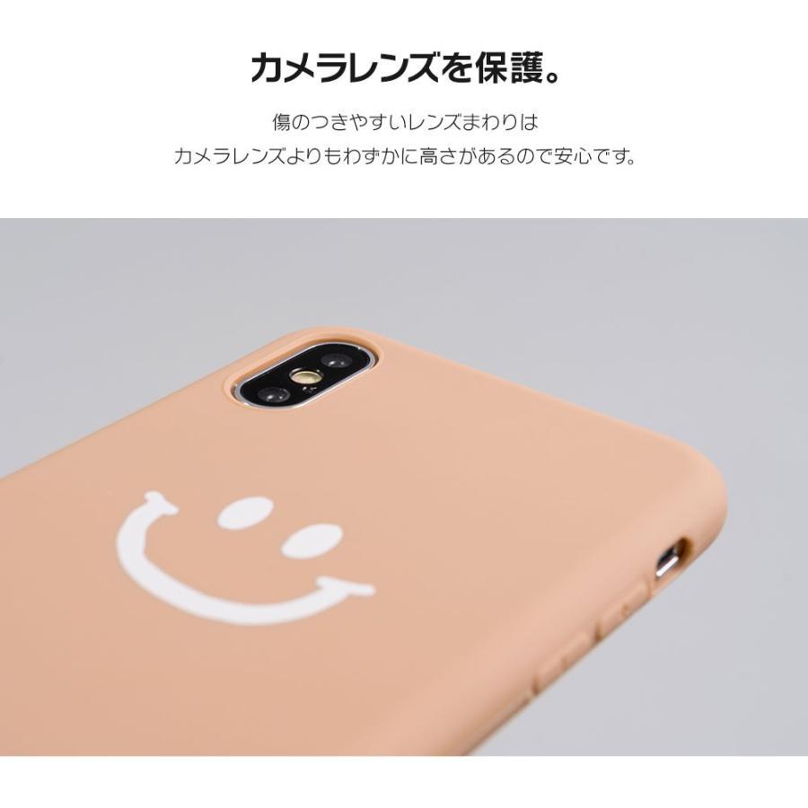 iPhone8 ケース SE2 XR ケース スマホケース XS MAX X iPhone7 iPhoneケース かわいい スマイル マーク ニコちゃん 緑 dm「ベイクドニコ」 designmobile 09