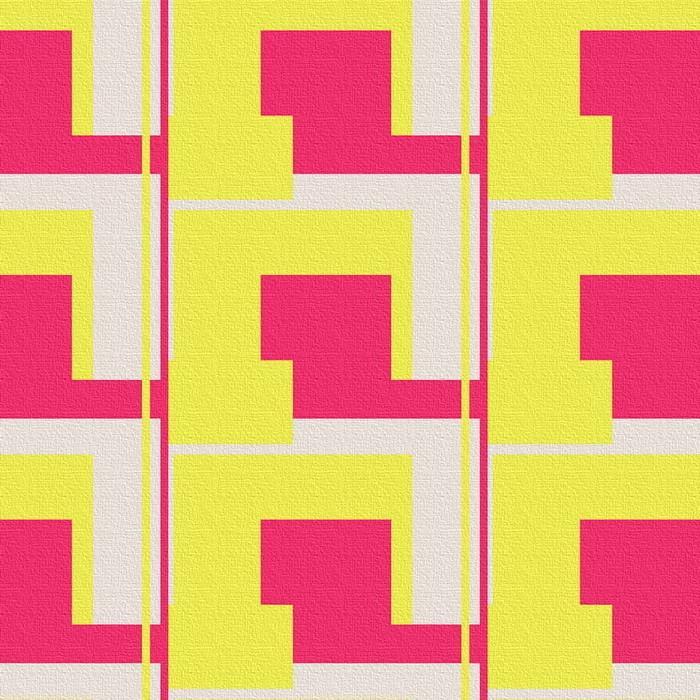 幾何学模様 アートパネル patt-1803-036 XLサイズ 100cm×100cm lib-6799509s4