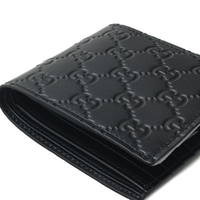 GUCCI グッチ 365467 CWC1R 1000 NERO ブラック GGキャンバス 二つ折り財布 deva-online 04