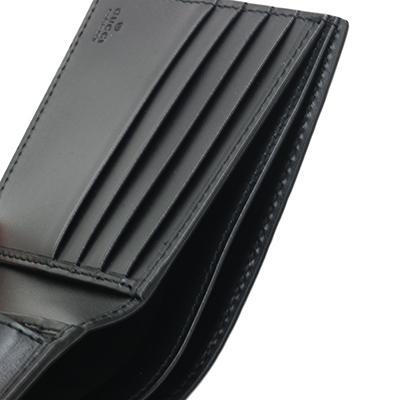 GUCCI グッチ 365467 CWC1R 1000 NERO ブラック GGキャンバス 二つ折り財布 deva-online 09