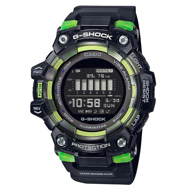 G-SHOCK G-SQUAD GBD-100SM-1JF 加速度センサー Bluetooth搭載 カシオ Gスクワッド ランニングウォッチ deva-online