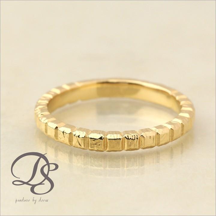 【史上最も激安】 K18 ゴールド リング ブロックデザイン(L) メンズ レディース シンプル 指輪 18k 18金, ふとんのマルソウ f5806c88