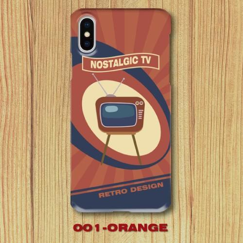 レトロポスター TV アメリカンポップ レトロデザイン ノスタルジック iPhone アイフォン スマホケース ハードケース|dezagoods|02