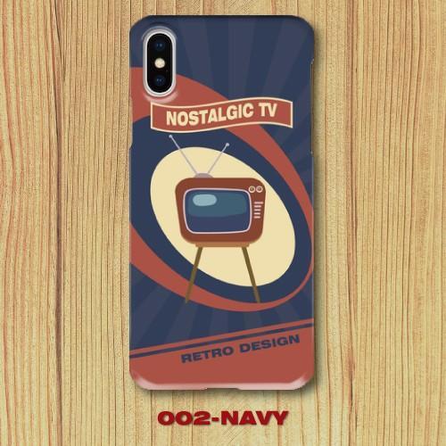 レトロポスター TV アメリカンポップ レトロデザイン ノスタルジック iPhone アイフォン スマホケース ハードケース|dezagoods|03