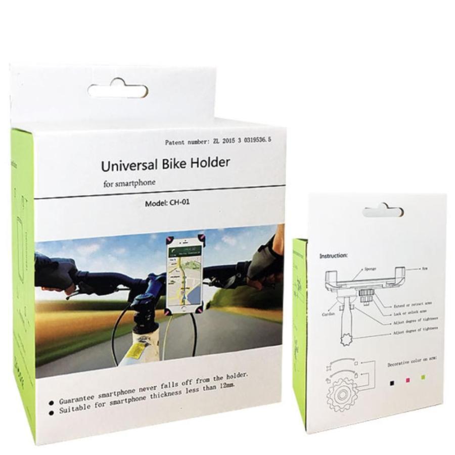 自転車 ロードバイク スマホホルダー スマホスタンド スマートフォン iPhone アンドロイド|dezicazi|04