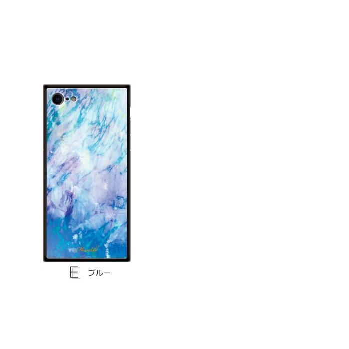 iPhone 11 Pro Max iPhoneXS ケース iPhone XS MAX iPhoneXR iPhoneX iPhone7 plus おしゃれ カバー スマホケース 背面強化ガラス TPU スクエア マーブル|dezicazi|03