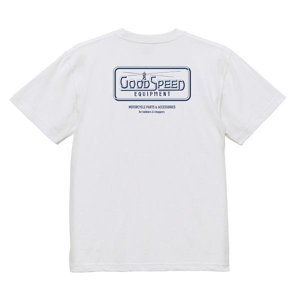 GOODSPEED グッドスピード equipment Official Logo S/S TEE 半袖Tシャツ|dialog-ca