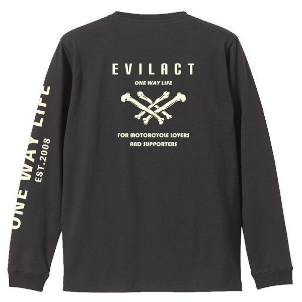 evilact イーブルアクト × dialog ダイアログ  コラボ L/S TEE|dialog-ca|02