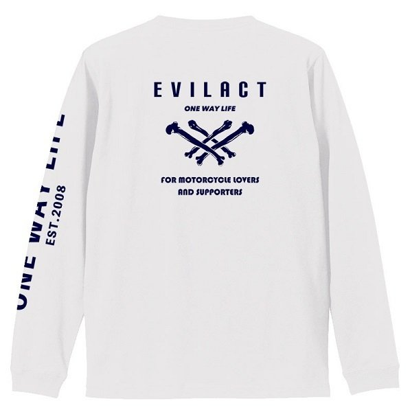 evilact イーブルアクト × dialog ダイアログ  コラボ L/S TEE|dialog-ca|04