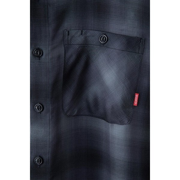 BLUCO ブルコ OMBRE WORK SHIRTS L/S オンブレチェックシャツ OL-109TO-021|dialog-ca|03