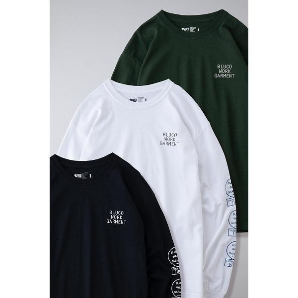 BLUCO ブルコ PRINT L/S TEE' S -bwg- プリント長袖Tシャツ OL-804|dialog-ca