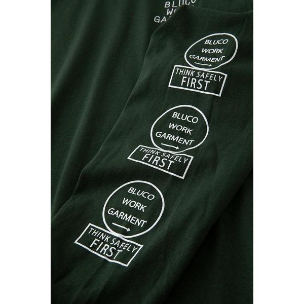 BLUCO ブルコ PRINT L/S TEE' S -bwg- プリント長袖Tシャツ OL-804|dialog-ca|03
