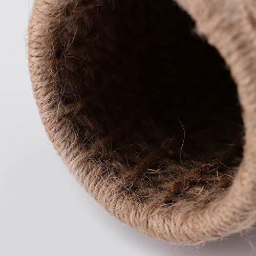 ledmomo ハムスター ハウス ベッド 冬 暖かい 吊り下げ 小鳥巣箱 コットンロープ織り 鳥かご バードケージ バー|diamod-snap987|09