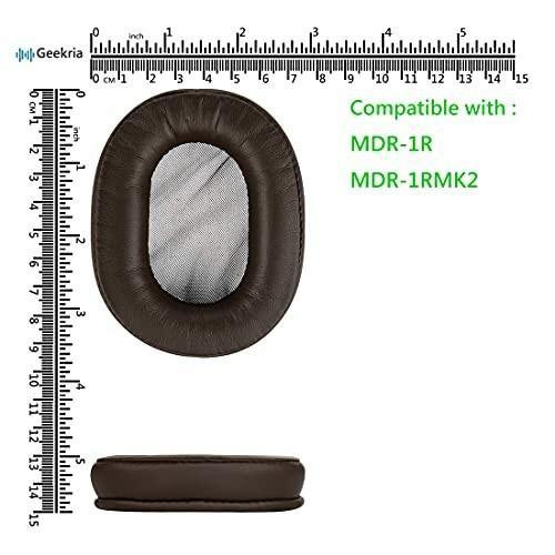 Geekria QuickFit イヤーパッド 互換性 パッド SONY MDR-1R, MDR-1RMK2 ヘッドホンに対応 イヤパッド/イヤークッション/イ diamod-snap987 03
