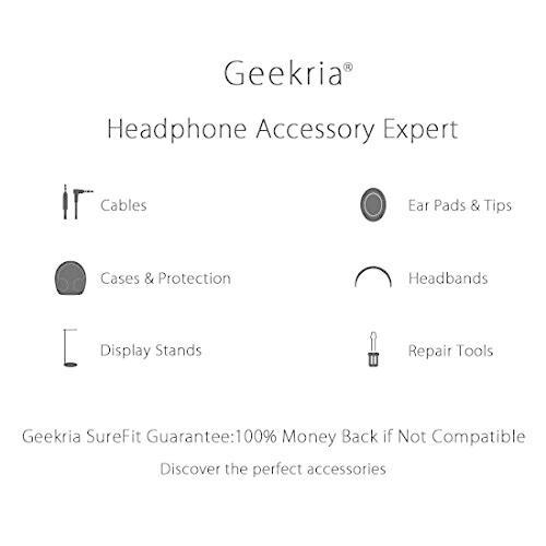 Geekria QuickFit イヤーパッド 互換性 パッド SONY MDR-1R, MDR-1RMK2 ヘッドホンに対応 イヤパッド/イヤークッション/イ diamod-snap987 07