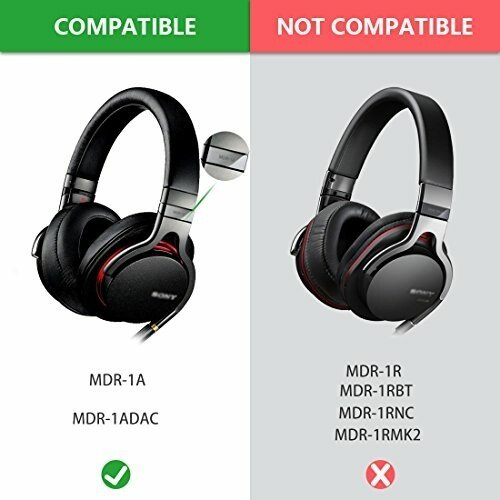 Geekria Comfort イヤーパッド 互換性 パッド SONY MDR-1A, MDR-1ADAC ヘッドホンに対応 イヤパッド/イヤークッション/イ diamod-snap987 03