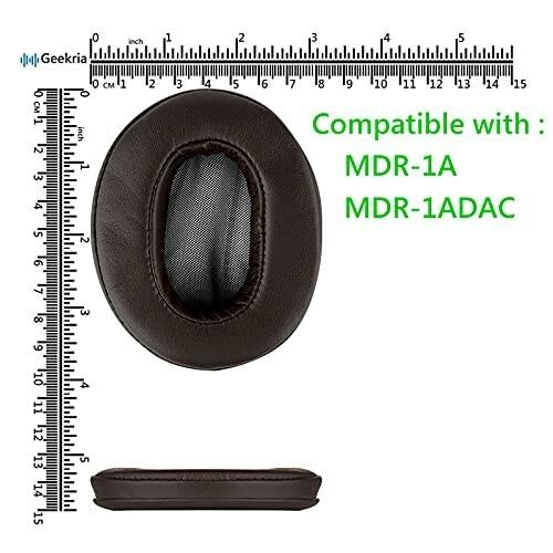 Geekria Comfort イヤーパッド 互換性 パッド SONY MDR-1A, MDR-1ADAC ヘッドホンに対応 イヤパッド/イヤークッション/イ diamod-snap987 06