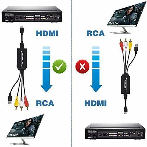 HDMI to RCA変換ケーブル HDMI to AVコンバータデジタル 3RCA/AV 変換ケーブル Apple TV/HDTV/Xbox/PC/DVD/ラップトップ/Blu-ray|diamod-snap987|06