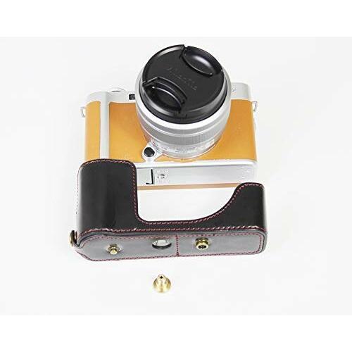 Fujifilm 富士 X-A7 XA7 X-A5 XA5 X-A20 XA20 15-45mm カメラ ケース、koowl 手で作った最高級のpu革の全身カメラ保護殻、Fujif|diamod-snap987|07
