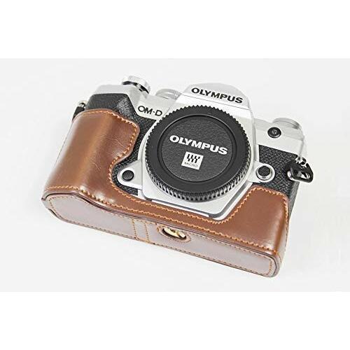 対応 Olympus オリンパス PEN OM-D E-M5 Mark III カメラ バッグ カメラ ケース 、Koowl手作りトップクラスのPUレザーカ|diamod-snap987|02