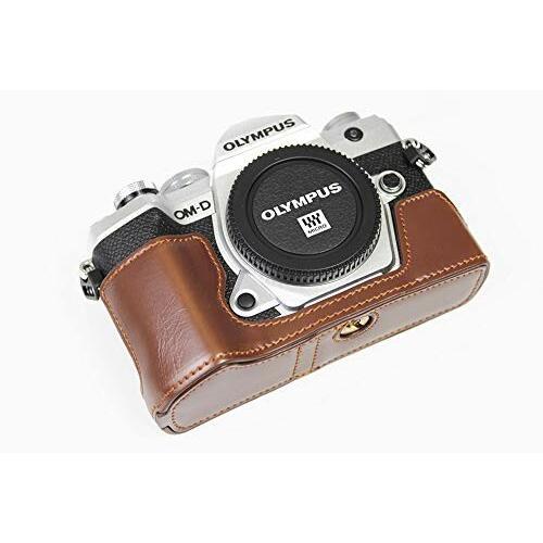 対応 Olympus オリンパス PEN OM-D E-M5 Mark III カメラ バッグ カメラ ケース 、Koowl手作りトップクラスのPUレザーカ|diamod-snap987|03