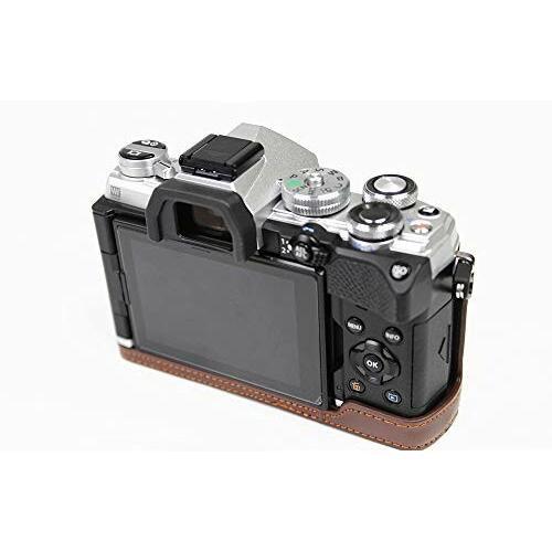 対応 Olympus オリンパス PEN OM-D E-M5 Mark III カメラ バッグ カメラ ケース 、Koowl手作りトップクラスのPUレザーカ|diamod-snap987|04