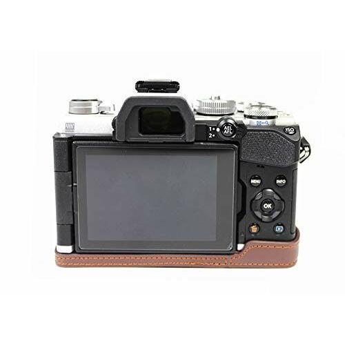 対応 Olympus オリンパス PEN OM-D E-M5 Mark III カメラ バッグ カメラ ケース 、Koowl手作りトップクラスのPUレザーカ|diamod-snap987|06