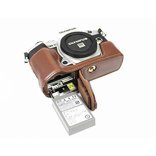対応 Olympus オリンパス PEN OM-D E-M5 Mark III カメラ バッグ カメラ ケース 、Koowl手作りトップクラスのPUレザーカ|diamod-snap987|07