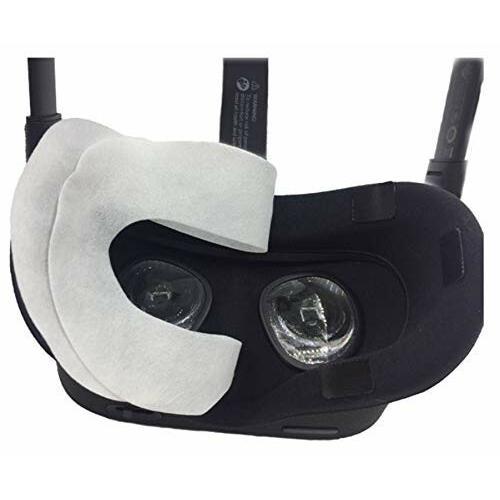 Oculus Quest/Oculus Go VR体験用 フェイスマスク 吸水布 アイマスク VR MASK (50枚 ヘッドマウントディスプレイに装着|diamod-snap987|03