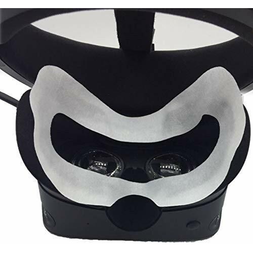 Oculus Quest/Oculus Go VR体験用 フェイスマスク 吸水布 アイマスク VR MASK (50枚 ヘッドマウントディスプレイに装着|diamod-snap987|05