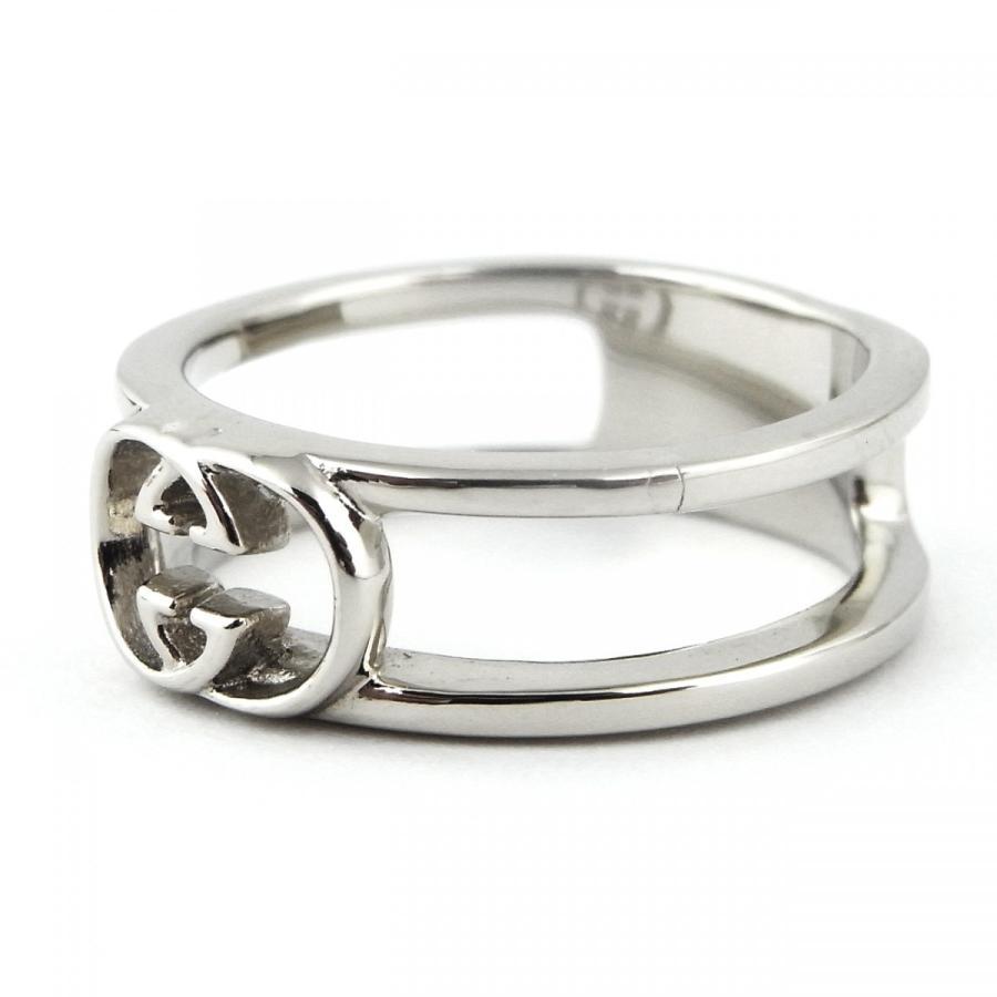 指輪 メンズ レディース ブランド 韓国ファッション シンプル おしゃれ SBG シルバー ロゴ リング diamonddust 02