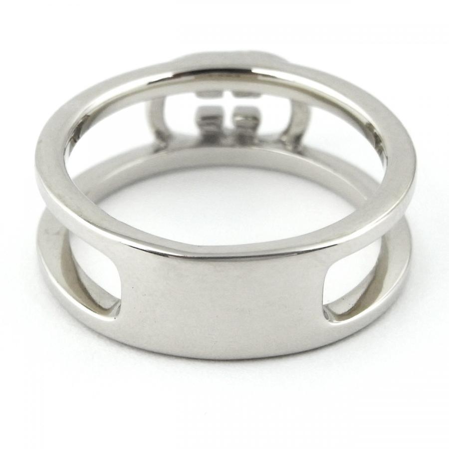 指輪 メンズ レディース ブランド 韓国ファッション シンプル おしゃれ SBG シルバー ロゴ リング diamonddust 04