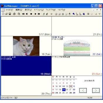 スケジュールソフト SelfManager ダウンロード版 dicresoft 03