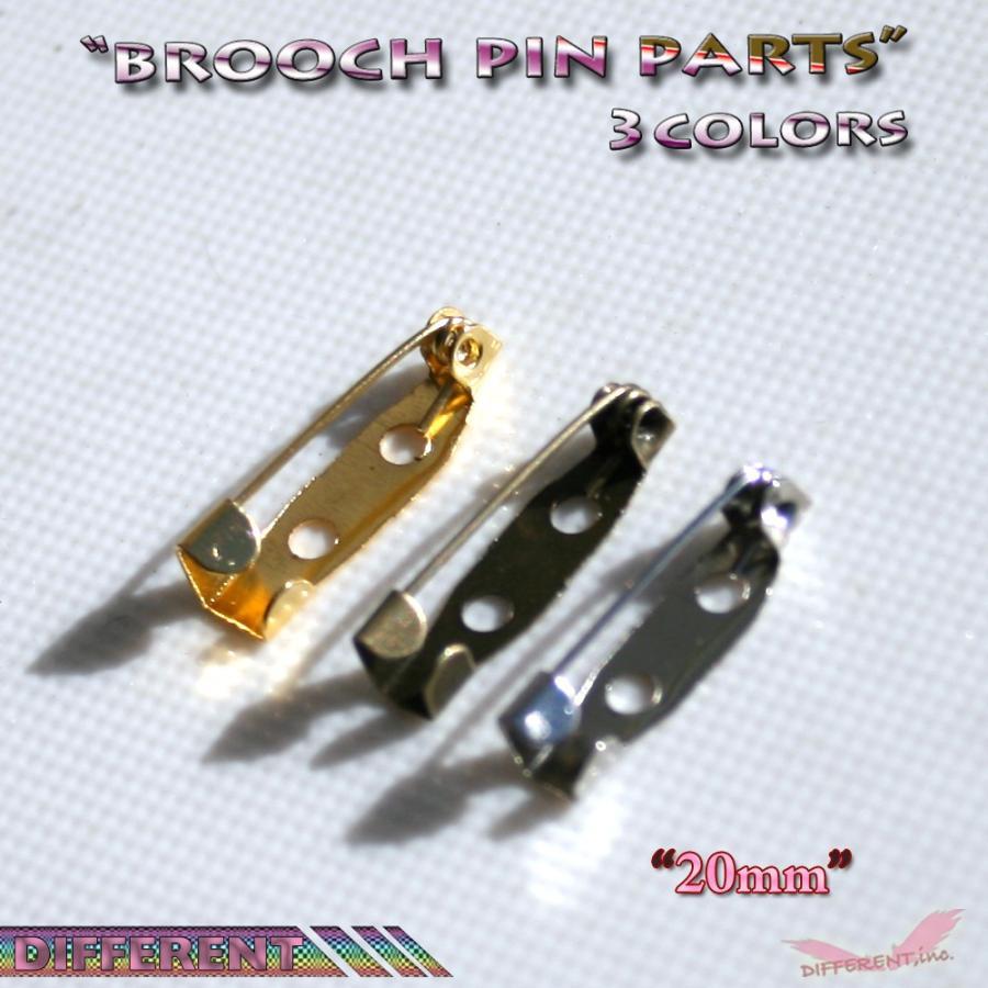 ブローチ 作成用 ブローチピン 3colors アクセサリーパーツ|different|05