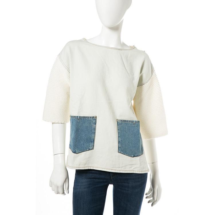 最新人気 ディーゼル DIESEL セーター プルオーバー ニット 半袖 丸首 M-LINY MAGLIA レディース 00SWW3 0HANN ホワイト, エルモッサ d7019fe9